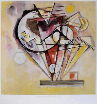 Wassily Kandinsky Auf Spitzen, 1928