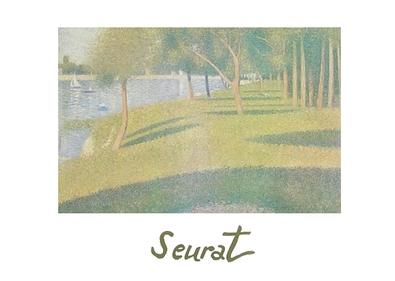 Georges Seurat Studie Grande-Jatte