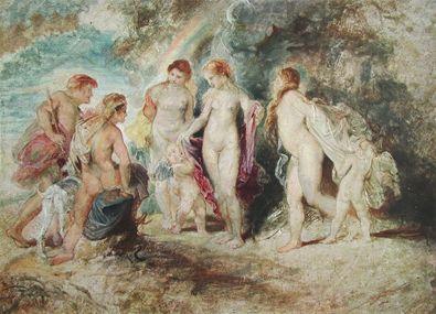 Anthonis van Dyck Das Urteil des Paris