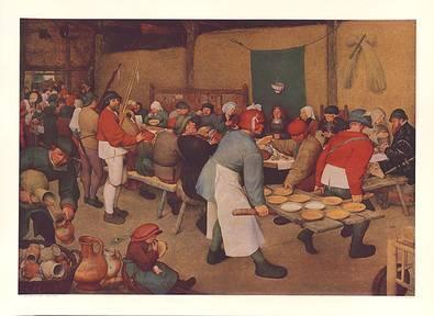 Pieter Brueghel Bauernhochzeit