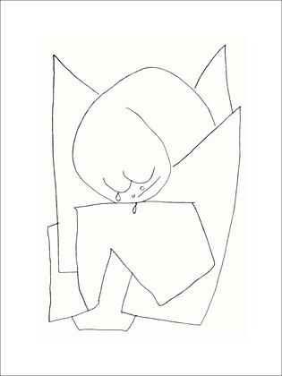 Paul Klee Es weint,1939