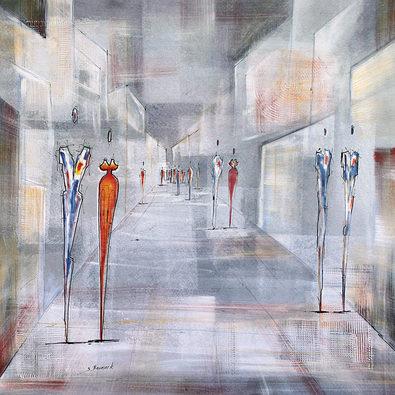 Joram Neumark Streetlife I (Grey)