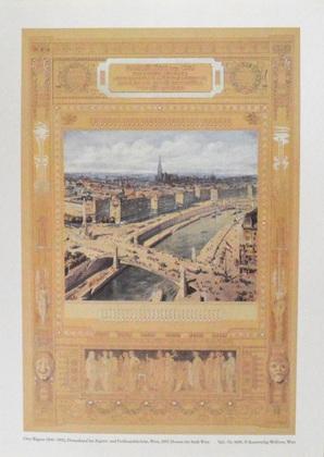 Otto Wagner Donaukanal bei Aspern- und Ferdinandsbruecke