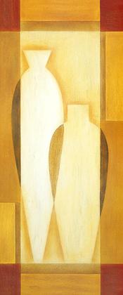 Nicht bekannt 4er Set 'Antique Vases I - IV'