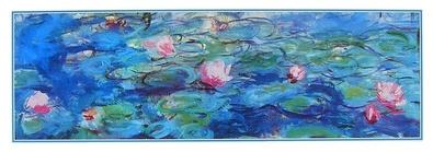 Claude Monet Waterlilies (Detail)