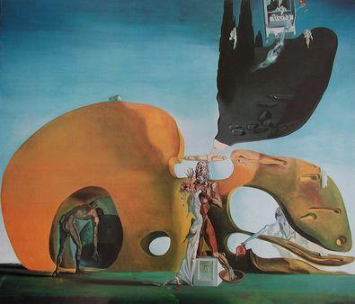 Salvador Dali Die Geburt der fliessenden Sehnsuechte