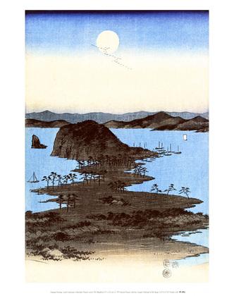 Utagawa Hiroshige Coastal Landscape, 1857
