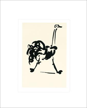 Pablo Picasso Der Strauss