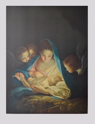 Carlo Maratta Die heilige Nacht