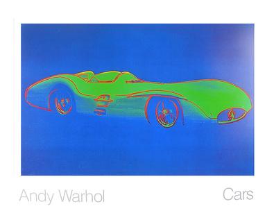 Andy Warhol Cars Formula I Car W 196 R Bj. 1954  ( gross )