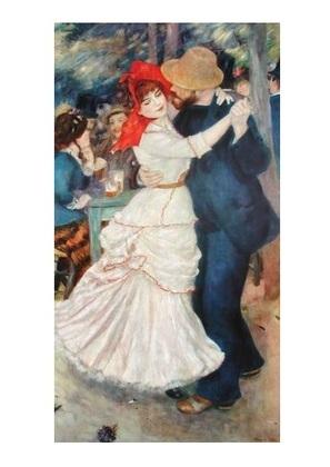 Pierre Auguste Renoir Tanz im Bougival