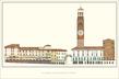 unbekannter Kuenstler La Piazza delle Erbe di Verona