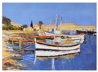 Ernest Audibert Der alte Hafen