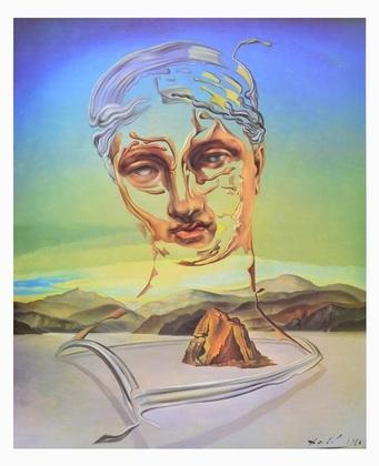 Salvador Dali Geburt der Gottheit