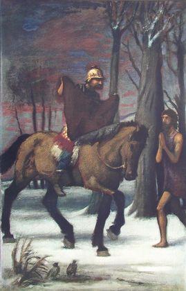 Hans von Marees Der heilige Martin