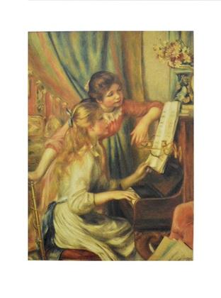 Pierre-Auguste Renoir Junge Maedchen am Klavier