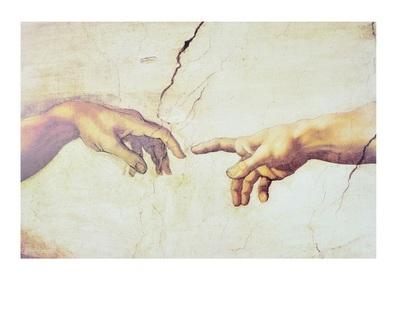 Michelangelo Erschaffung des Adam