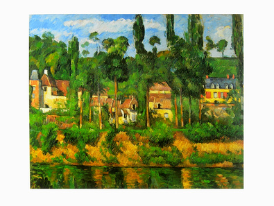 Paul Cezanne Das Schloss von Medan