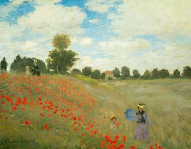 Claude Monet Mohnfeld bei Argenteuil