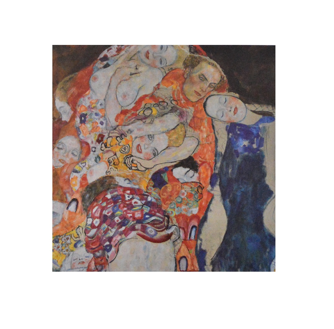 gustav klimt die braut poster kunstdruck bild 41x41cm ebay. Black Bedroom Furniture Sets. Home Design Ideas