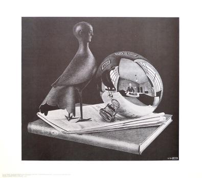 MC Escher Stilleben mit Kugel
