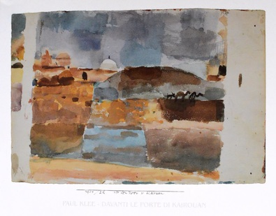 Paul Klee Vor den Toren von Kairouan