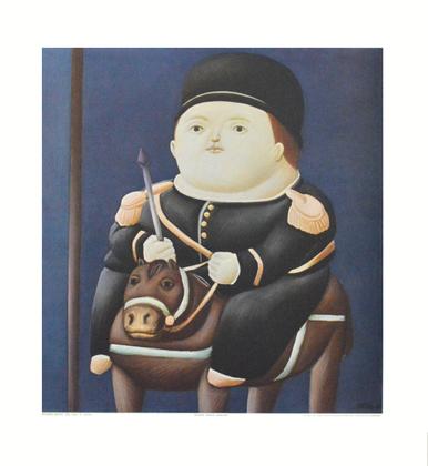 Fernando Botero St. Georg