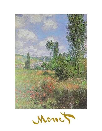 Claude Monet Landschaft in St. Martin, Vetheuil