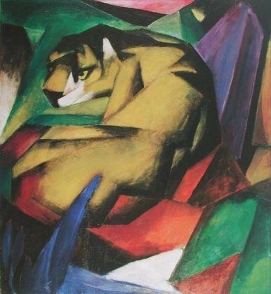Franz Marc Der Tiger