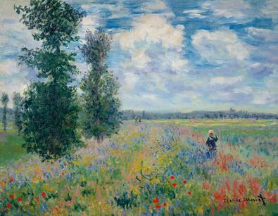 Claude Monet Les Coquelicots