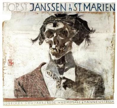 Horst Janssen Hommage a Tannewetzel