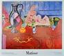 Matisse henri statuette rose et bol d etain medium