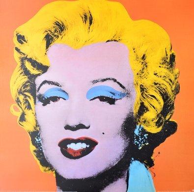 Andy Warhol Marilyn, Shot Orange ( gross )