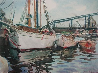 Sargent boote am anker large