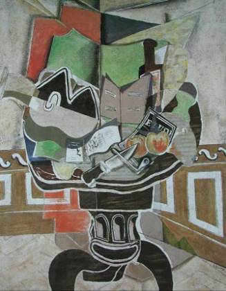Georges Braque Der runde Tisch