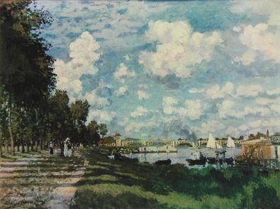 Claude Monet Sommertag (Seine bei Argenteuil)