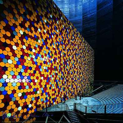 Christo und Jeanne-Claude The Wall Nr. 3 handsigniert