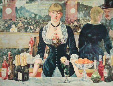 Edouard Manet Bar in den Folies Bergere