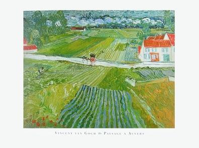 Vincent van Gogh Paysage a Auvers