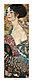 Gustav Klimt Segnora con ventaglio