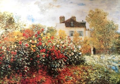 Monet claude the artist s garden 38931 large