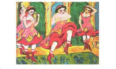 Ernst Ludwig Kirchner Czardas Dancers