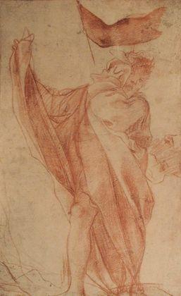 Antonio Allegri da Correggio Apostelfigur