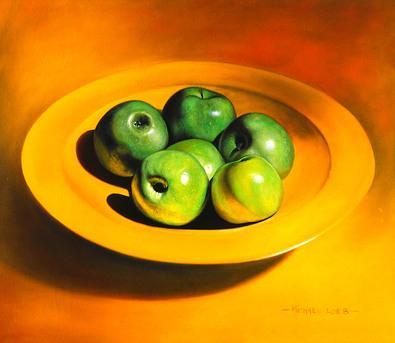 Michael Loeb Still Life with Apples