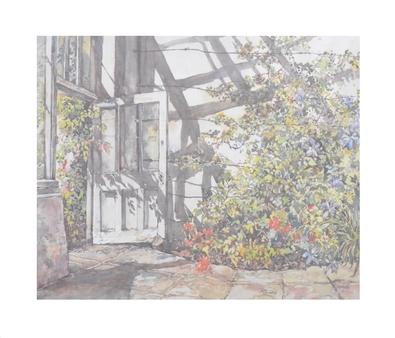 Eileen Crawfurd Shadows in the Greenhouse