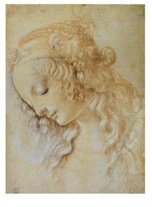 Leonardo da Vinci Frauenkopf