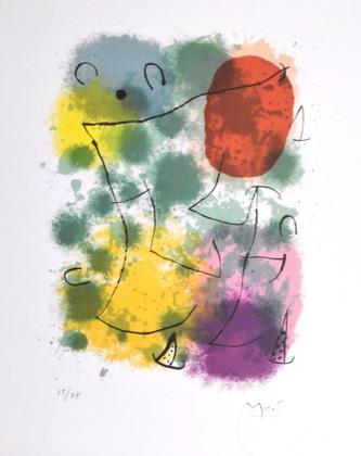 Joan Miro Hommage a Rimbaud