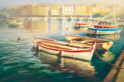 Roberto Lombardi Harbor Morning I
