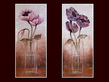 Tava janet 2er set poppies in vase i ii medium