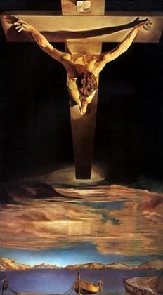 Salvador Dali Il christo di San Giovanni della Croce